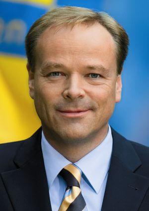 Pressebild von Dirk Niebel vom Juli 2005