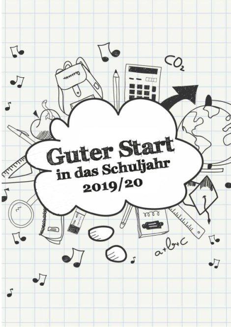 FAWZ_Guter Start in das Schuljahr 2019-20