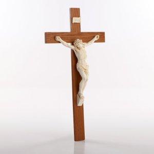 Crucifix avec corpus ivoire