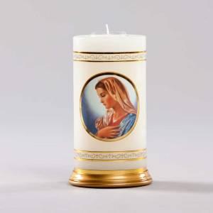 chandelle céleste-vierge marie