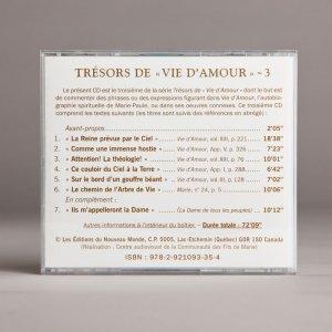 trésors de vie d'amour 3b-cd
