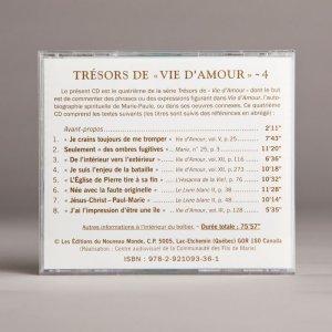 trésors de vie d'amour 4b-cd
