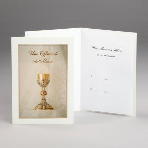 carte offrande de messe-calice
