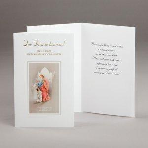 carte communion-garçon-que dieu te bénisse