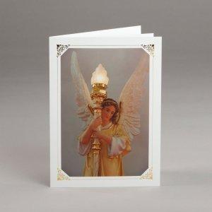 carte photos assorties-ange maître-autel