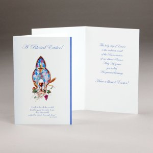easter card-a blessed easter