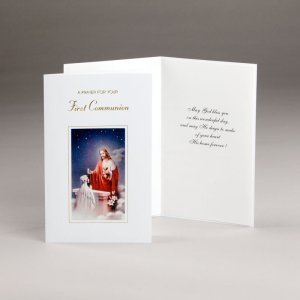 card for holy communion-girls-a prayer for your communion