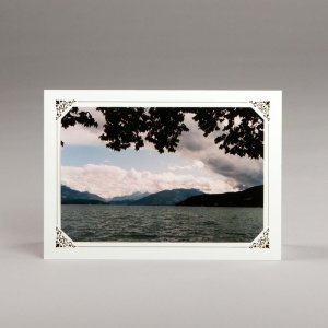 card with assorted photos-lake at annecy