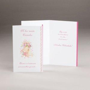 tarjeta noviazgo o el matrimonia-a los recién casados