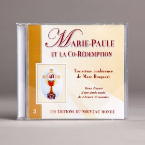 marie-paule et la co-rédemption-cd double