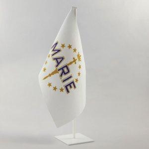 petit drapeau de l'armée de marie
