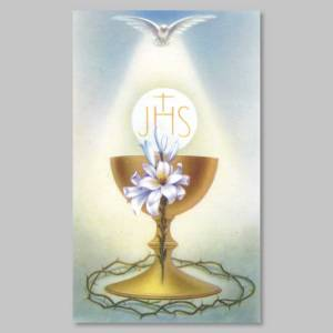 holy picture - act of love to the eucharist