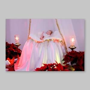 carte postale - l'enfant jésus de spiri-maria