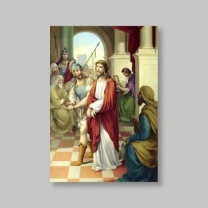 chemin de croix en image - 4 x 6 pouces