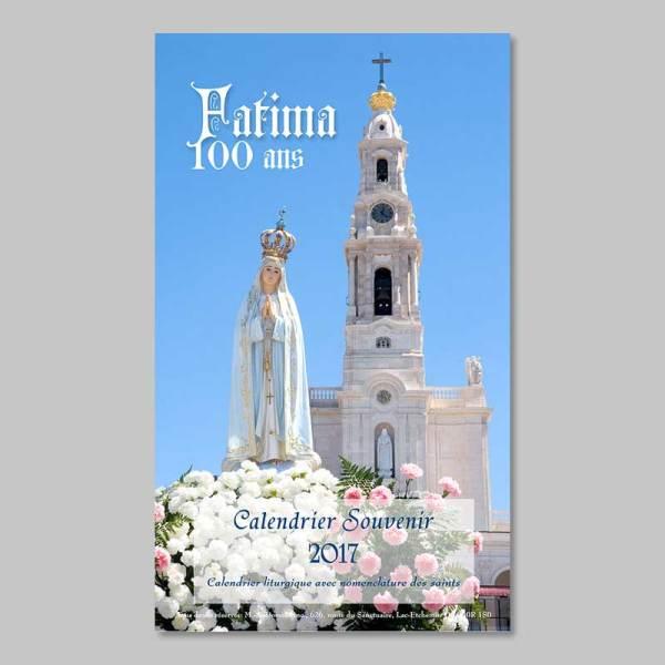 calendrier 2017 - Fatima 100 ans