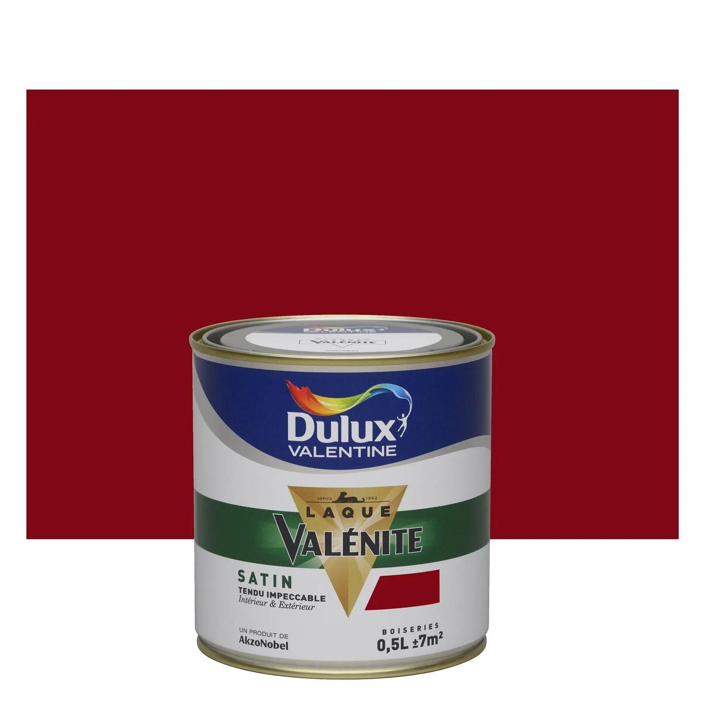 Peinture Rouge Basque DULUX VALENTINE Valnite 05 L