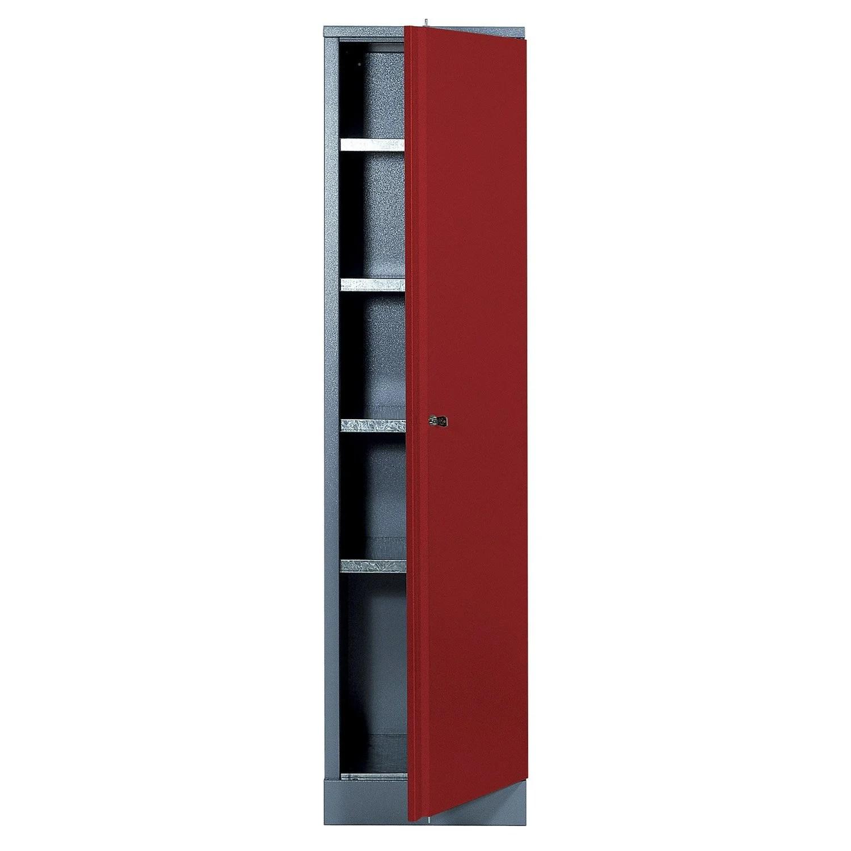 Armoire De Rangement En Mtal Rouge KUPPER 455 Cm 1 Porte