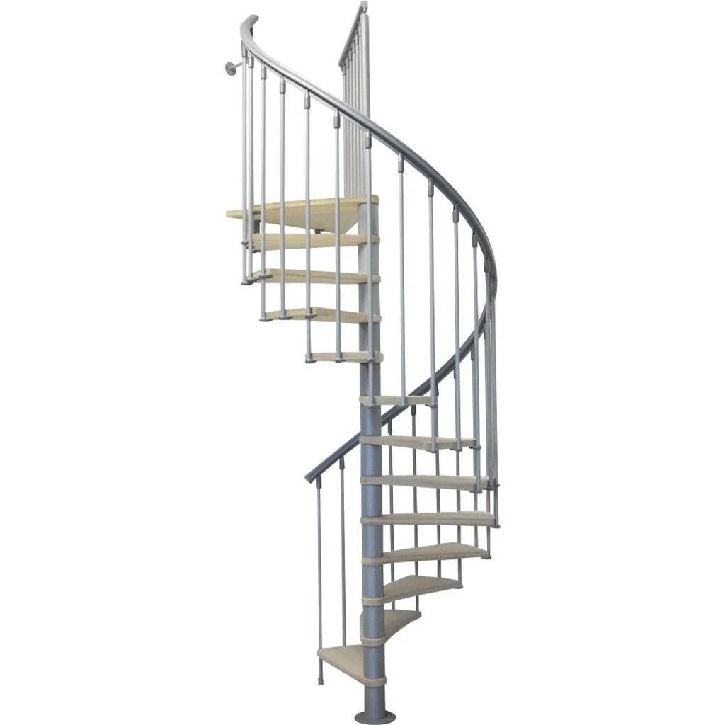 Escalier Colimaon Rond Nice Structure Mtal Marche Bois