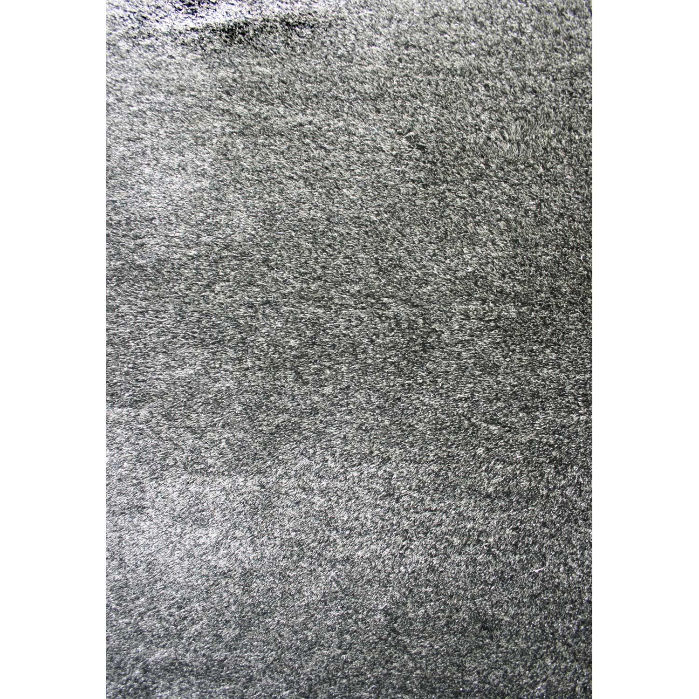 Tapis Shaggy Zelia Gris 230x160 Cm Leroy Merlin