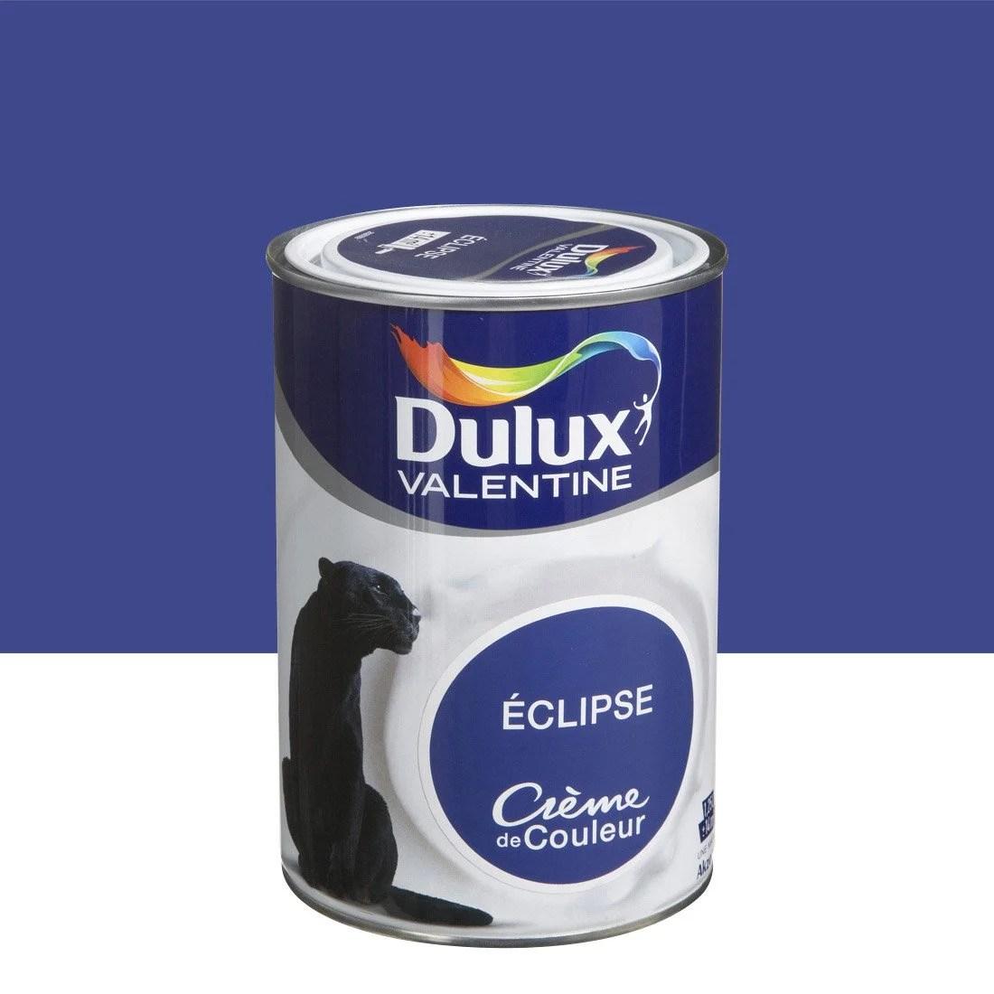 Peinture Bleu Clipse DULUX VALENTINE Crme De Couleur 1