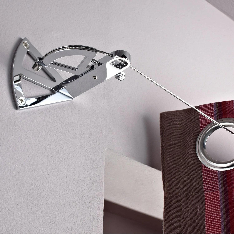 Kit Complet Cable Pour Mur Et Plafond Platinium Chrome L