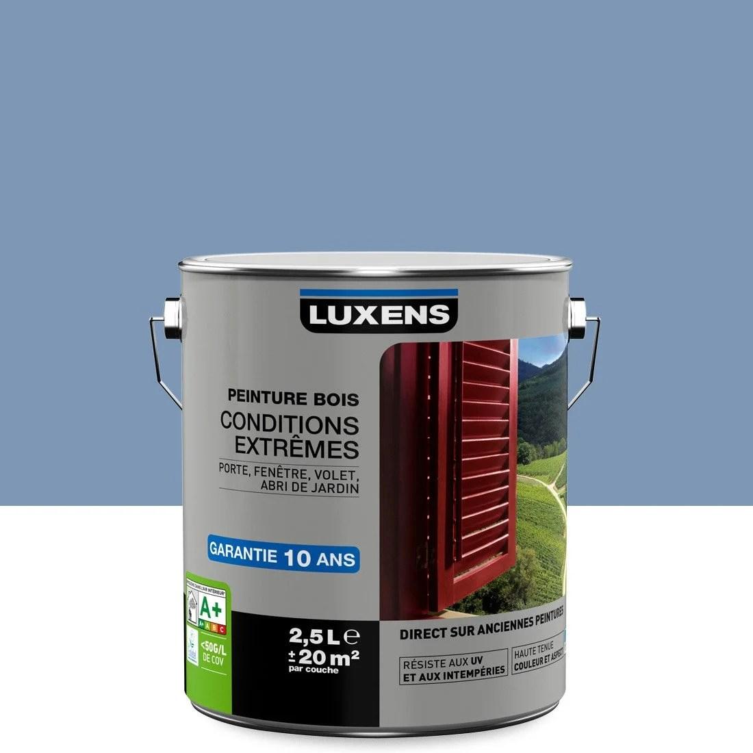 Peinture Bois Extrieur Conditions Extrmes LUXENS Bleu