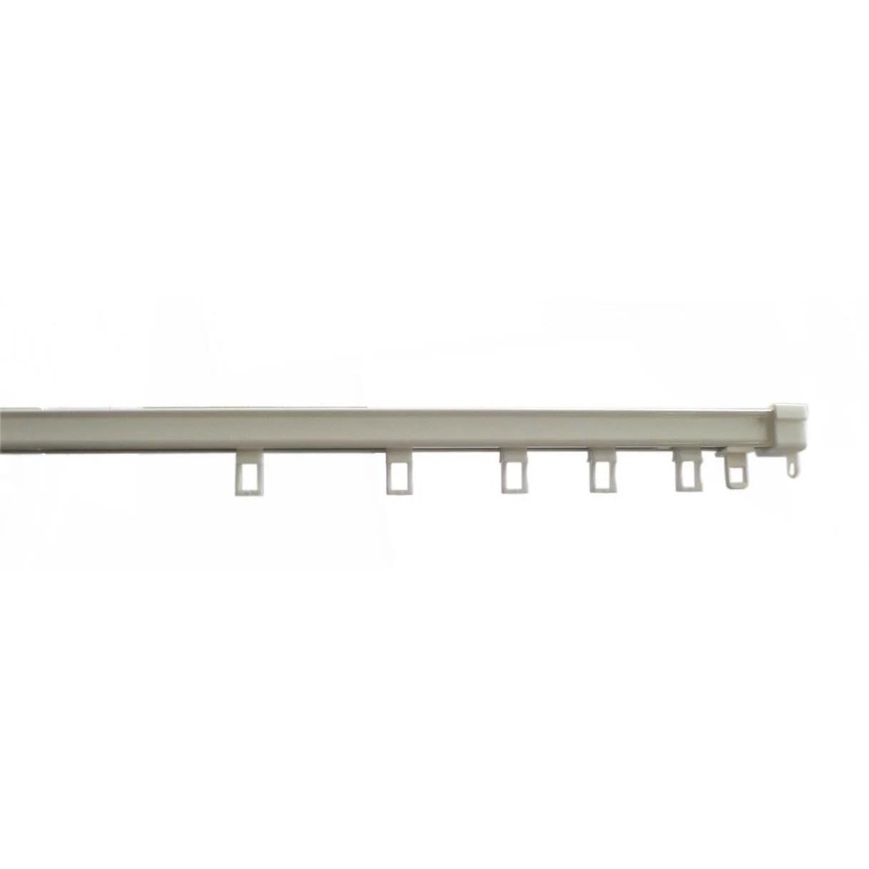 Rail Acier Astuce Rail Blanc Laqu L200 Cm Ouverture