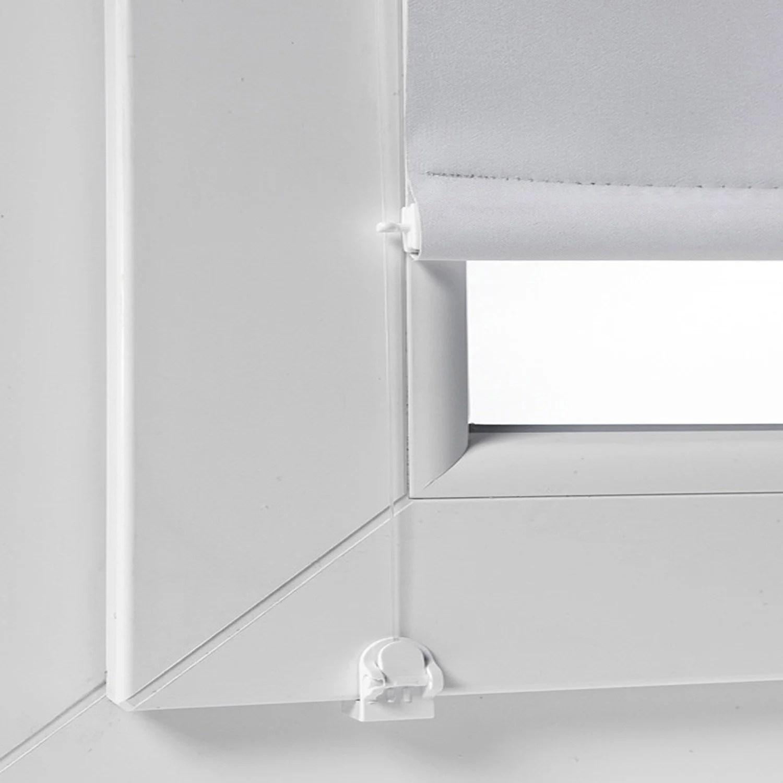 Kit De Guidage Lateral Blanc Pour Store Enrouleur