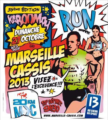 Jeu Concours : 1 dossard à gagner pour le 35ème Marseille-Cassis