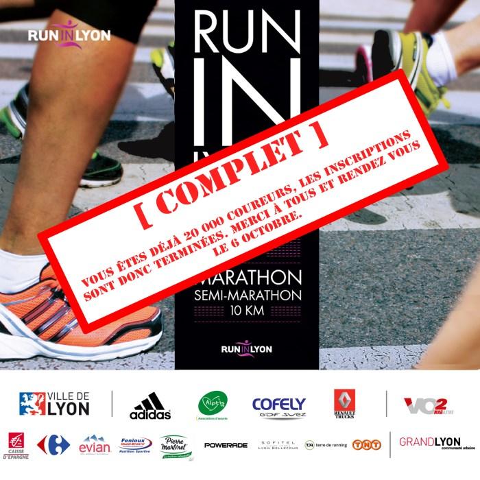J-3 : L'édition 2013 du RunInLyon annonce complet