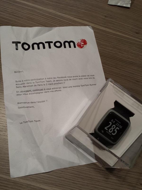 Le test de la TomTom Runner, la montre GPS de TomTom