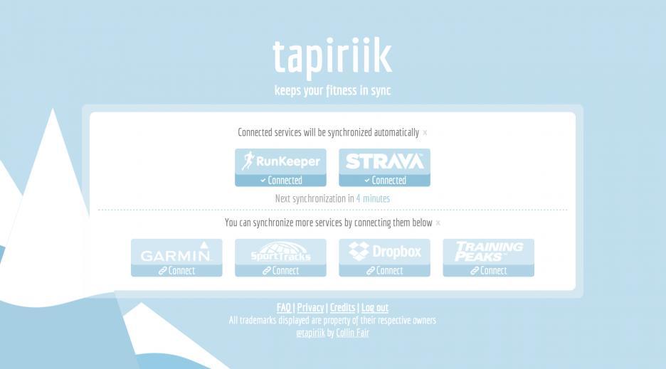 Synchroniser ses courses entre Garmin connect, Strava, Runkeeper et autres