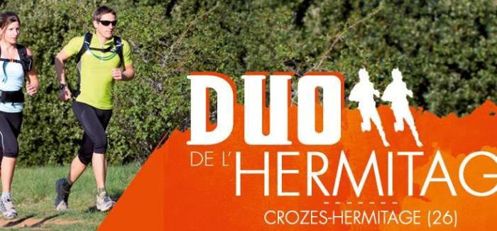 Duo de l'hermitage : un trail par équipe au coeur des vignes drômoises