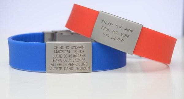 Devenez identifiable grâce au bracelet Data Vitae