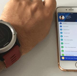 Garmin Connect est disponible sur Runtastic