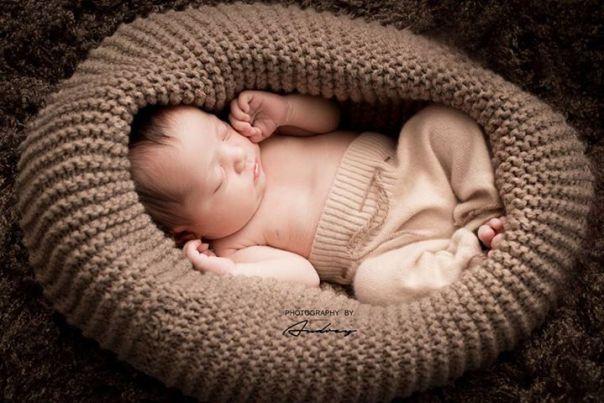 Création cocoon tout doux nouveau né