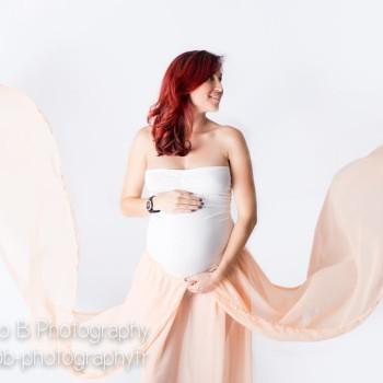 Ensemble modèle Estellé spécial photos de grossesse