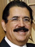 L'ancien président du Honduras Manuel Zelaya.