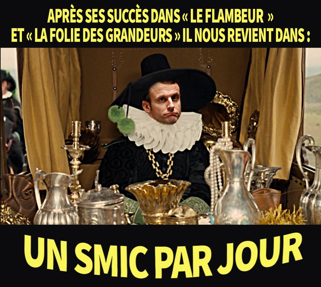 """Résultat de recherche d'images pour """"Macron et l' argent + humour"""""""