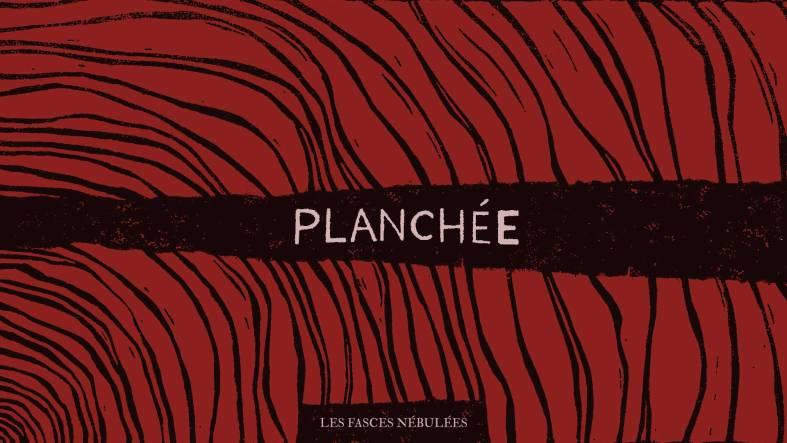 Aperçu du visuel du premier album de Planchée