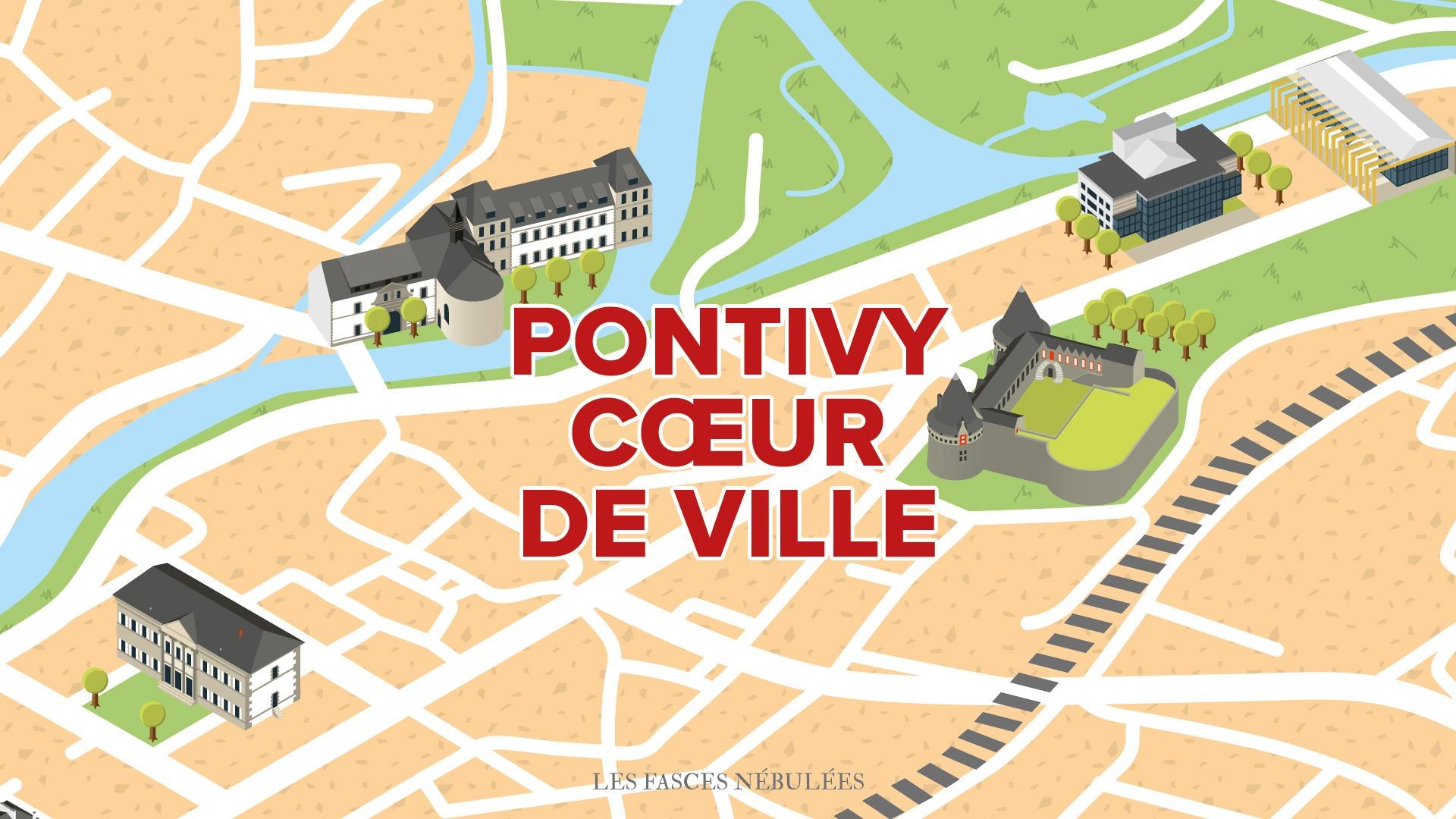 Pontivy </br> Cœur de ville