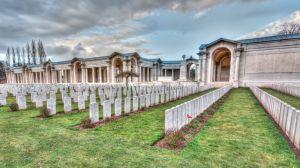 mémorial cimetière anglais Arras