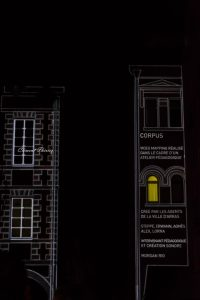 video mapping Arras