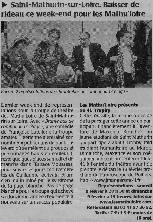 Article Co du 7/02/2014
