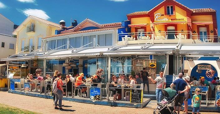Restaurant-Les-Planches-Argeles-sur-Mer-Specialite-Poissons-Fruits-de-Mer-Bord-de-mer