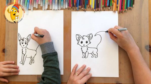 strengthen parent-child ties through drawing