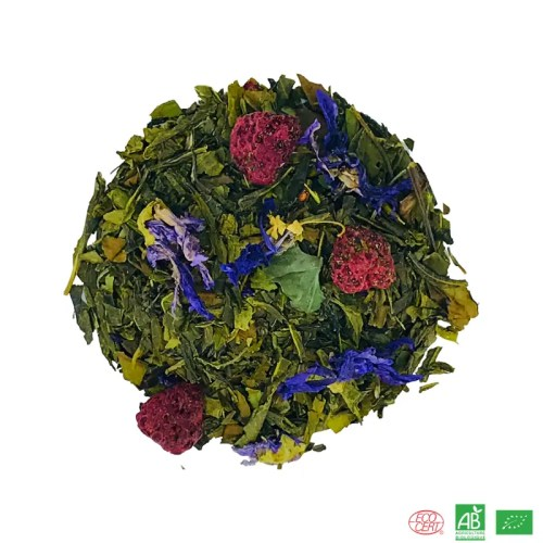 the vert lolita framboise violette bio, the vert framboise, the vert violette bio, the vert bio parfume, the bio vert aromatise