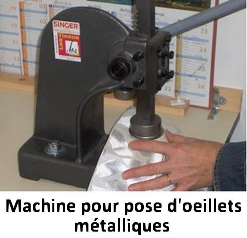 pose d oeillets metalliques les