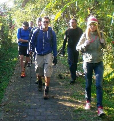 Découvrir Bali autrement : escalade du volcan Batukaru. Départ motivé