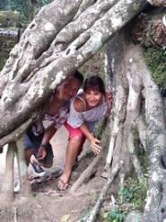 Empire Khmer : magie des temples d'Angkor au Cambodge. Thierry et Valérie